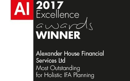 2017 Acquisition International Award for Most Outstanding Holistic IFA Planning