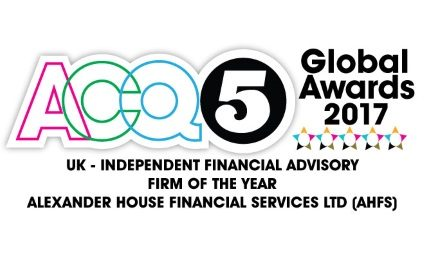 ACQ5 Global Awards 2017's UK – Independent Financial Advisory Firm Of The Year
