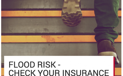 Flood Risk – Check Your Insurance